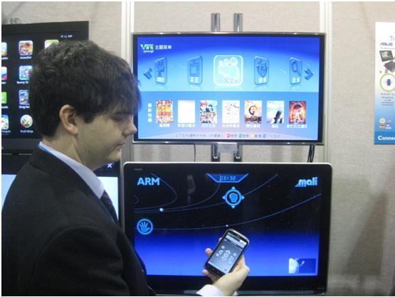 """视畅在2012CES上展示""""一云三屏""""聚合推荐和多屏互动产品"""